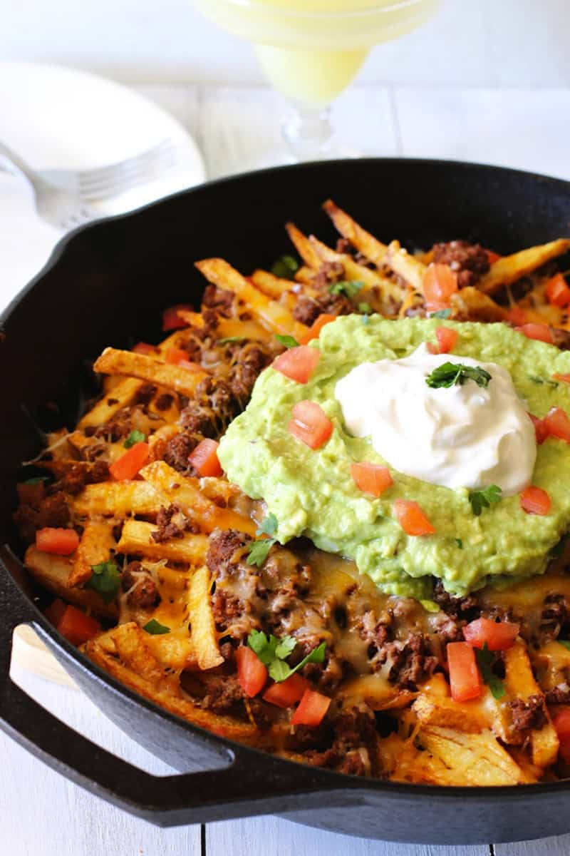 Beef nacho French fries