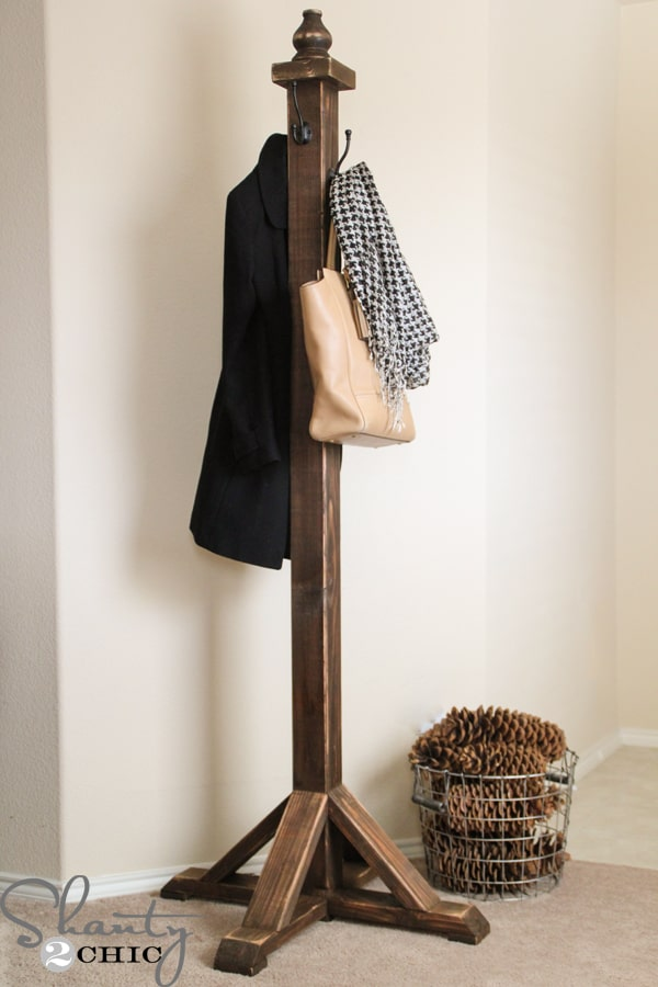 Marvelous DIY Coat Racks For An Organized Entryway Best Diy Coat Rack Ideas
