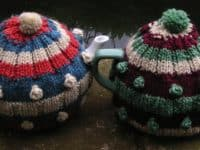 Celmentine tea cozy 200x150 A Warm and Toasty Affair: 14 Adorable Knitted Tea Cozies