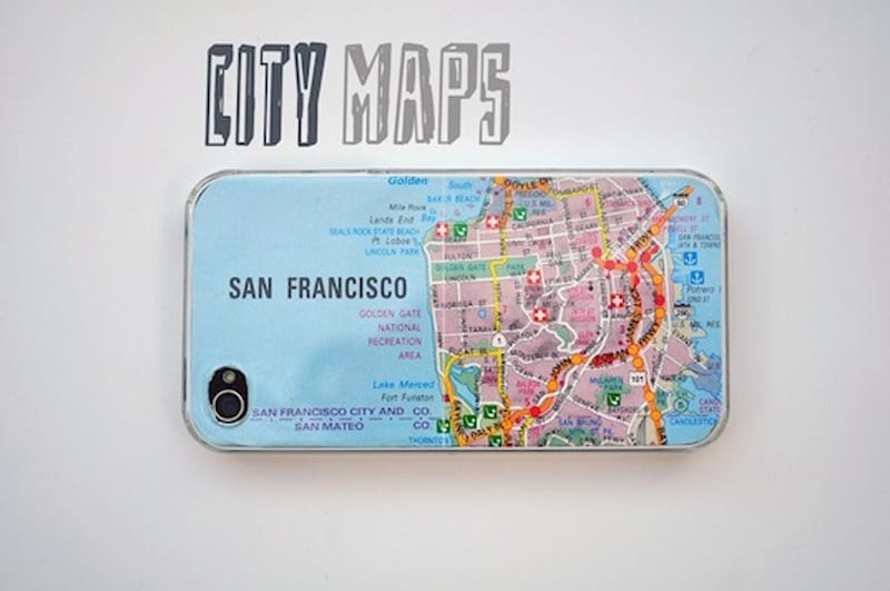 City map iPhone case