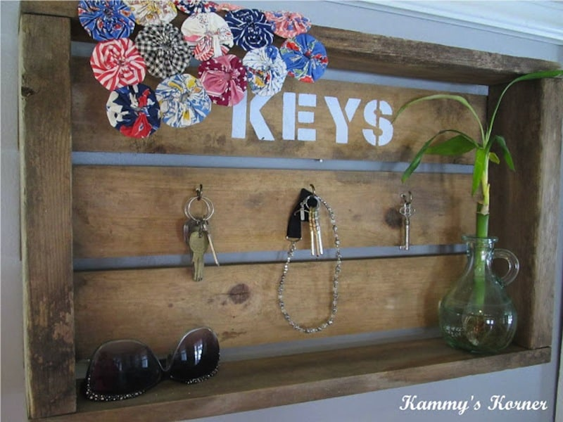 Cute key crate
