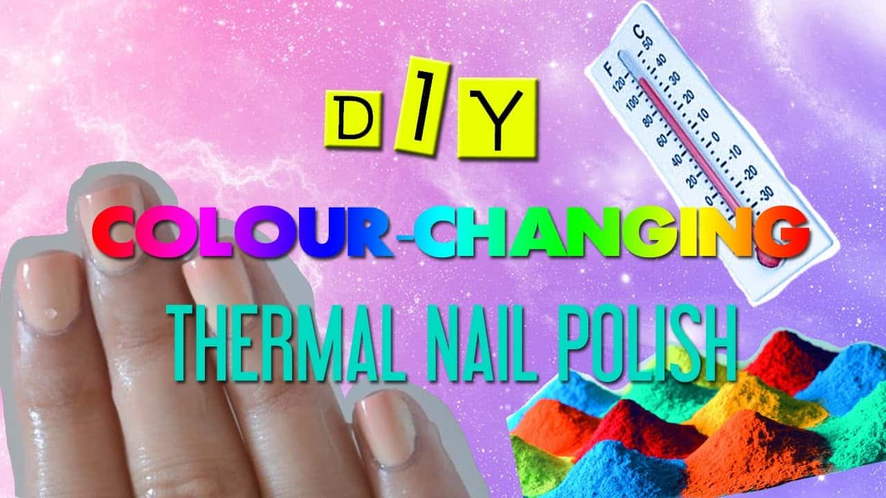 DIY colour changing thermal polish