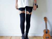 DIY garter leggings 200x150 Pretty DIY Garters for Any Occasion