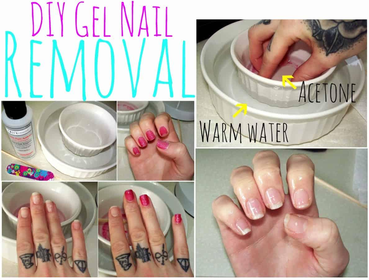 DIY gel nail remover