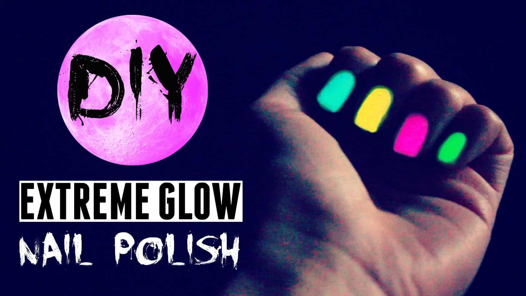 DIY glow polish