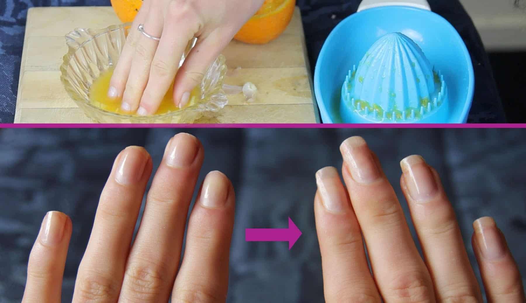 DIY nail growth recipe