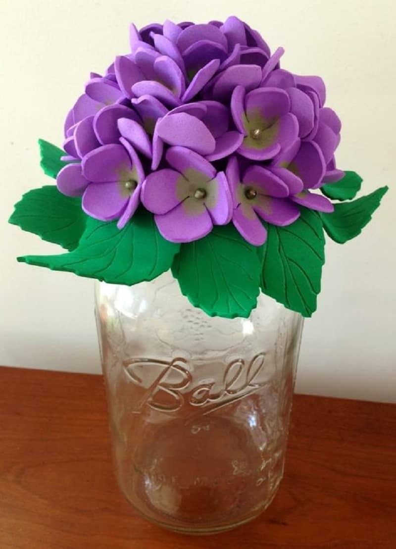 Foam flower bouquet