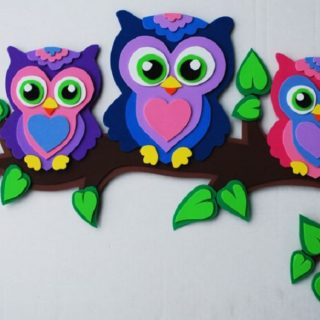 Color and Creativity: Crafts made from Foam Paper