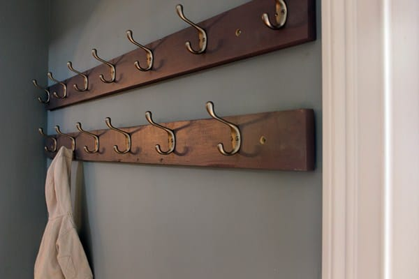 Marvelous DIY Coat Racks For An Organized Entryway Cool Entry Coat Rack