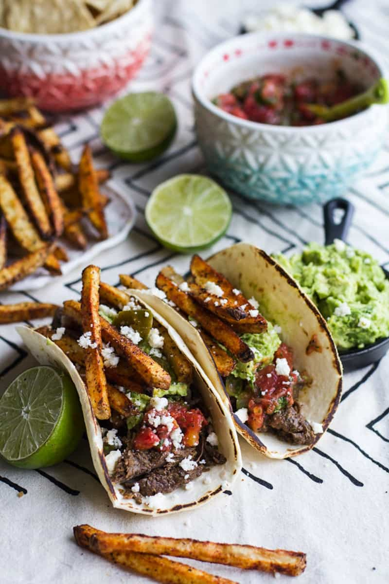 French fry tacos
