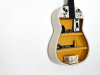 Guitar shelf  200x150 Strumming Fun: Fantastic DIY Projects For Kids Who Love Guitars