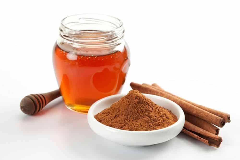 Honey and cinnamon acne treatment