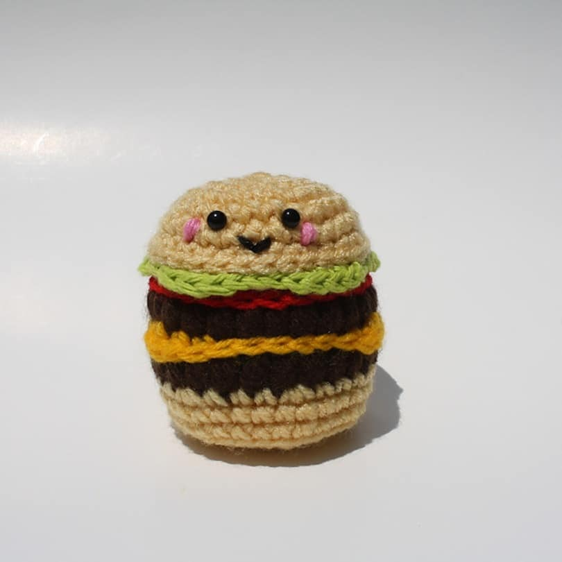 Kawaii cheeseburger