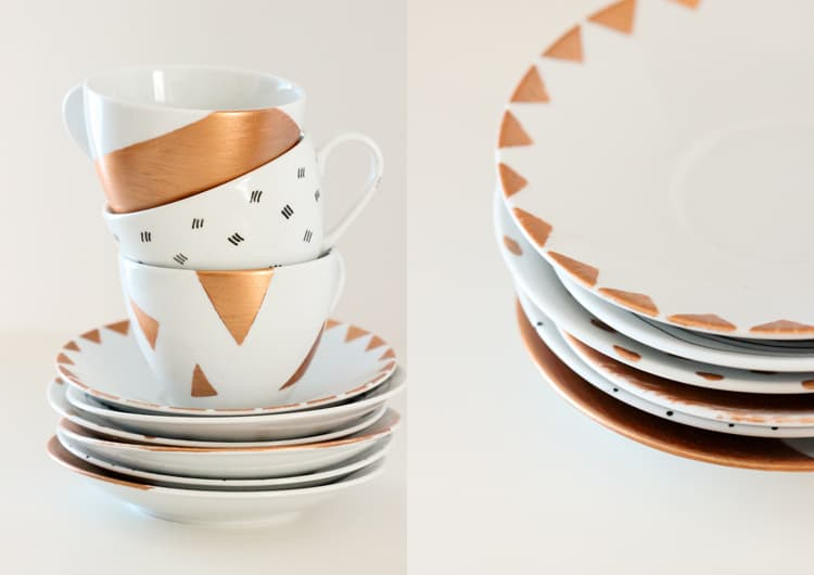 Painted Porcelain & Trendy Dining: DIY Ideas for Decorating Your Dinnerware