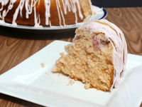 Peach bundt cake 200x150 15 Delicious Baking Recipes For Peach Lovers