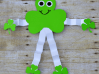 Shamrock man  200x150 Celebrating St. Patrick's Day with Fun Shamrock Crafts