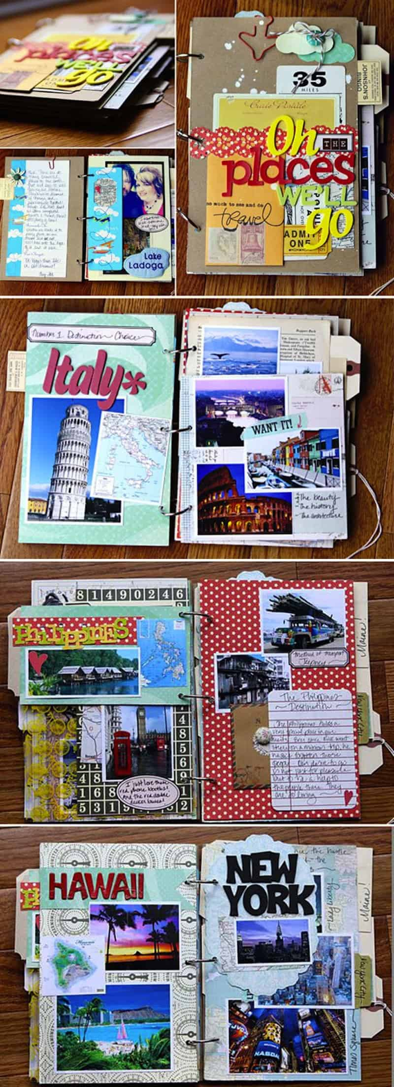 Travel trinket binder