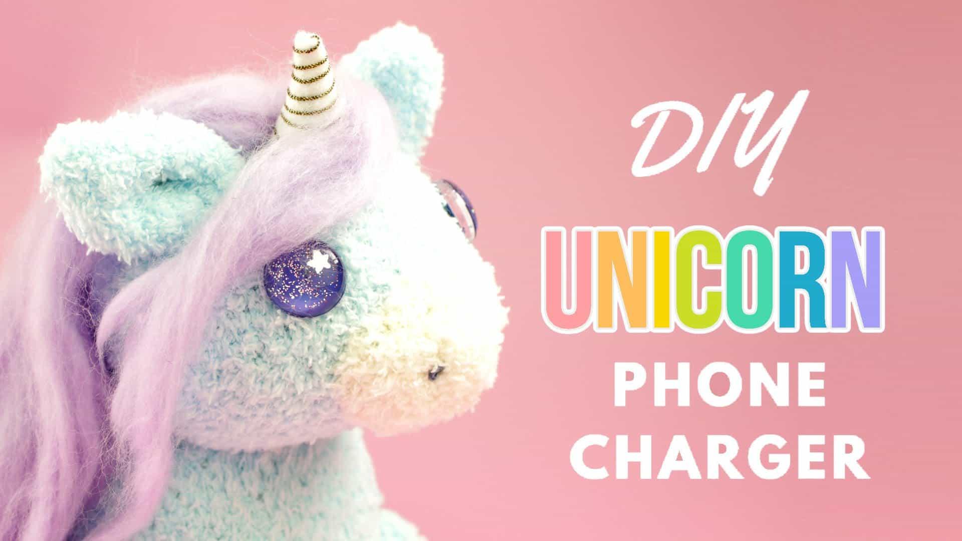 Unicorn phone charger
