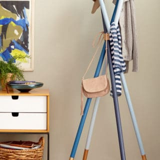Marvelous DIY Coat Racks for an Organized Entryway