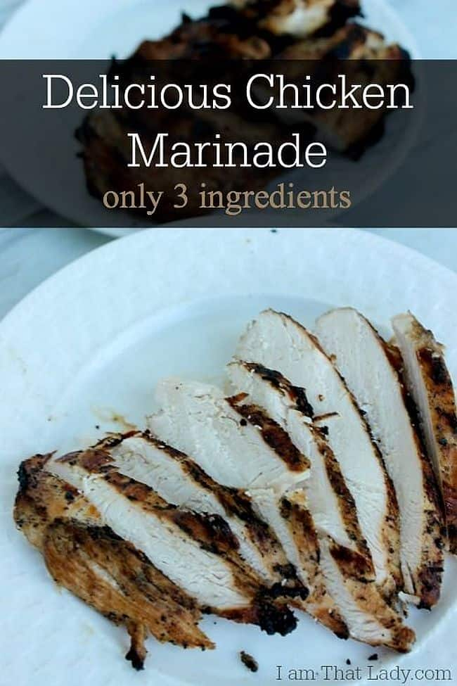 3-ingredient chicken marinade