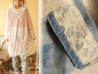 Add lace to the cuff 200x150 Keeping them Alive: Fun Ways to Alter Old Jeans