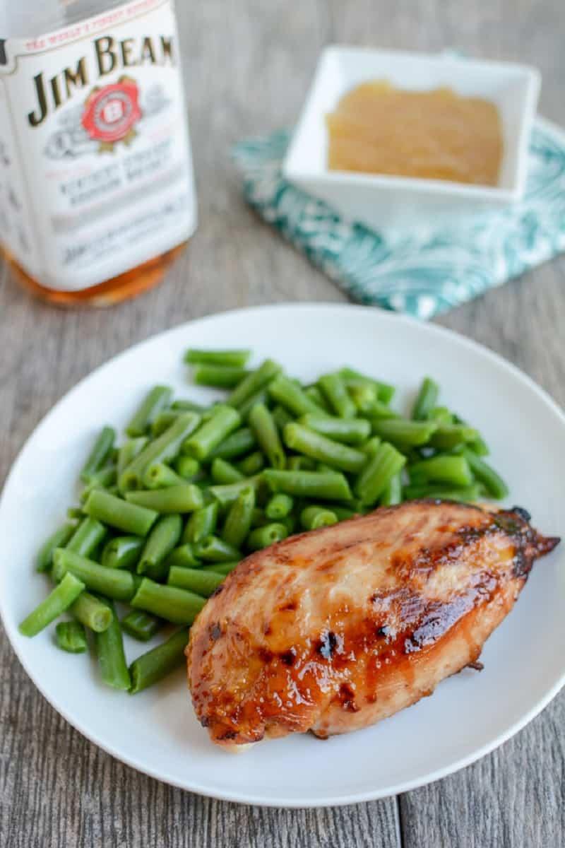 Bourbon chicken marinade