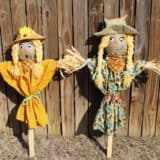 DIY Scarecrows: Farmer's Raggedy Helpers