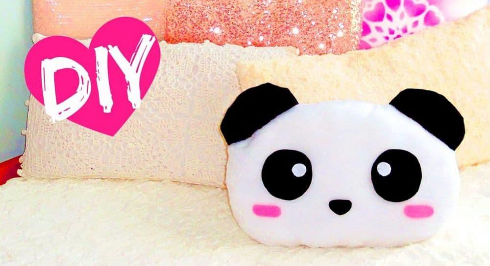 DIY Panda Pillow