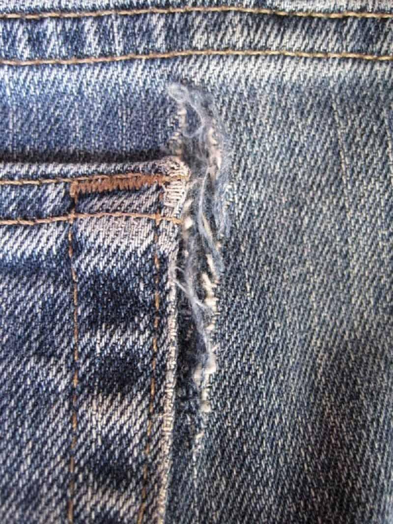 Fixing worn rips