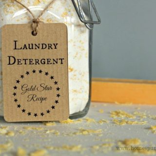 Washing Clothes on a Budget: DIY Laundry Detergents!