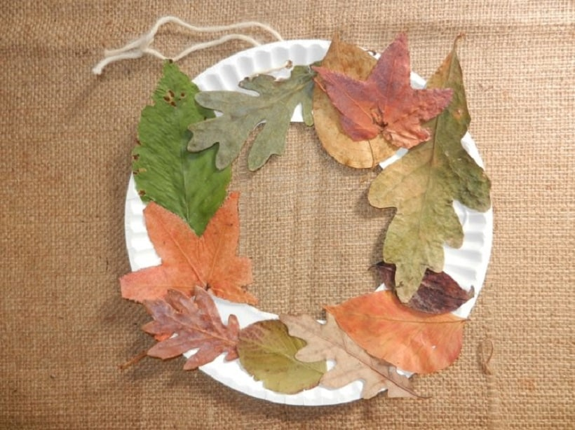 Pretty crafts involving leaves - Herbstideen kindergarten ...