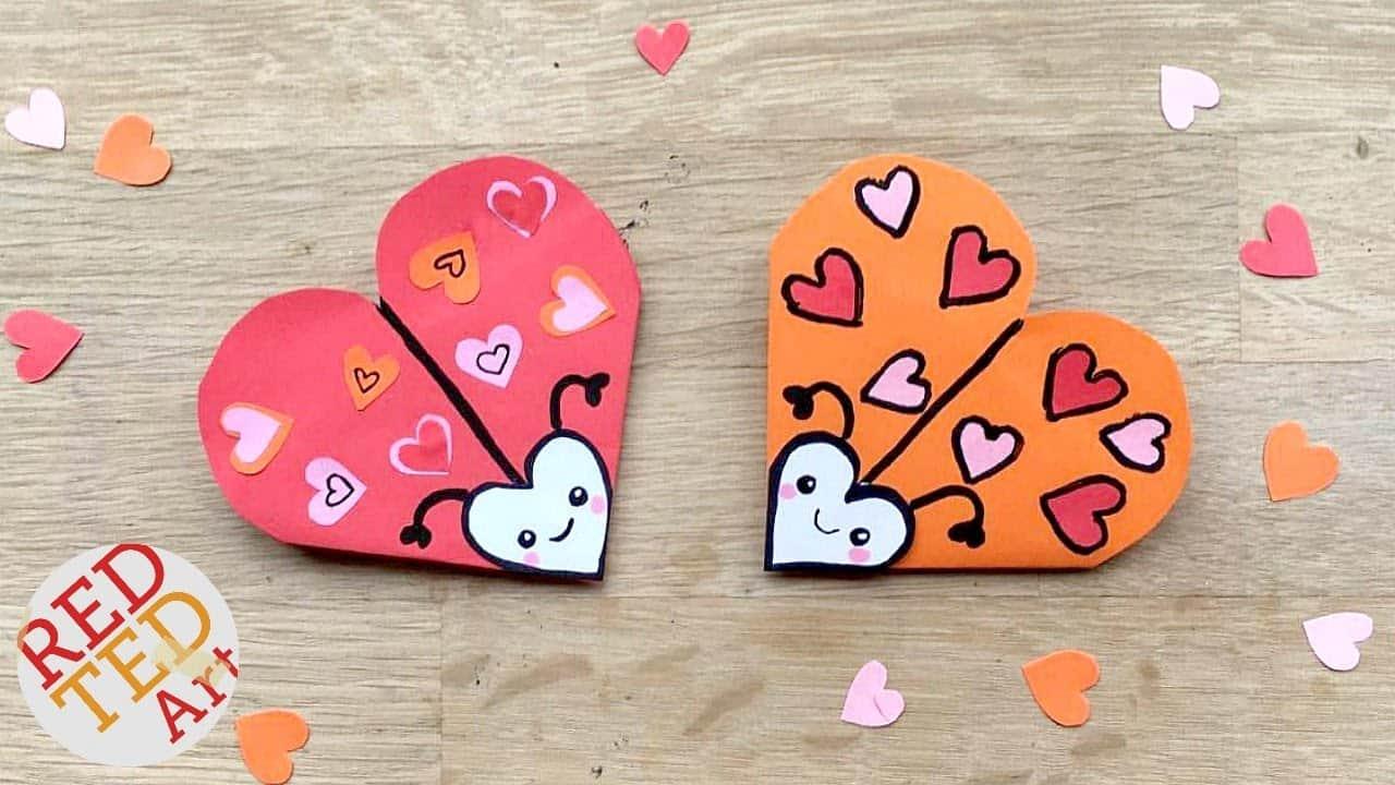 Love bug bookmark