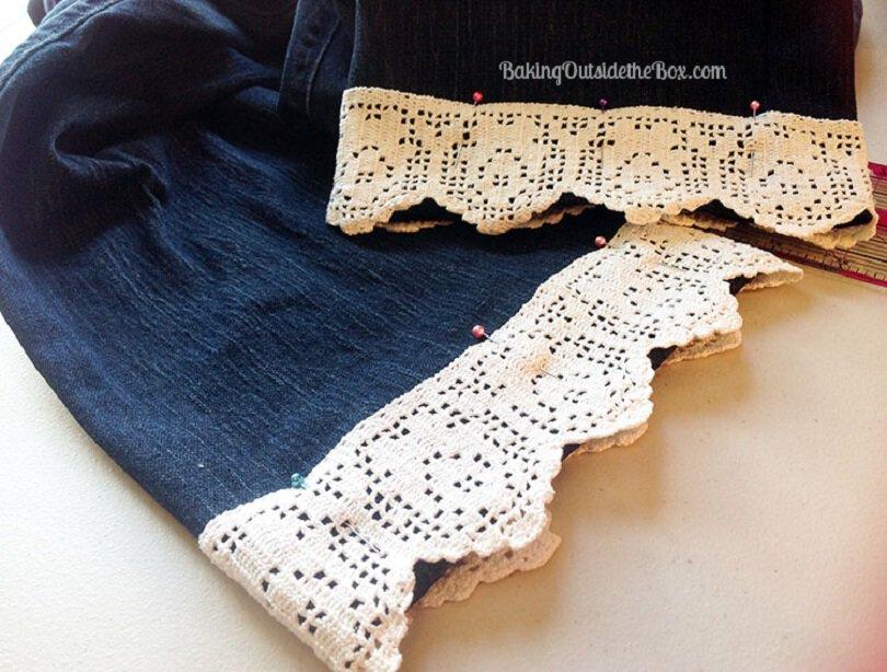 Make lace capris