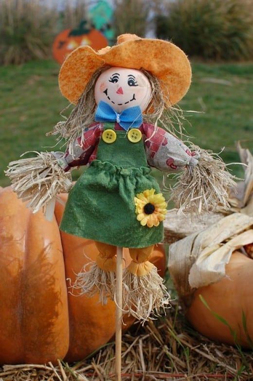 Diy Scarecrows Farmer S Raggedy Helpers