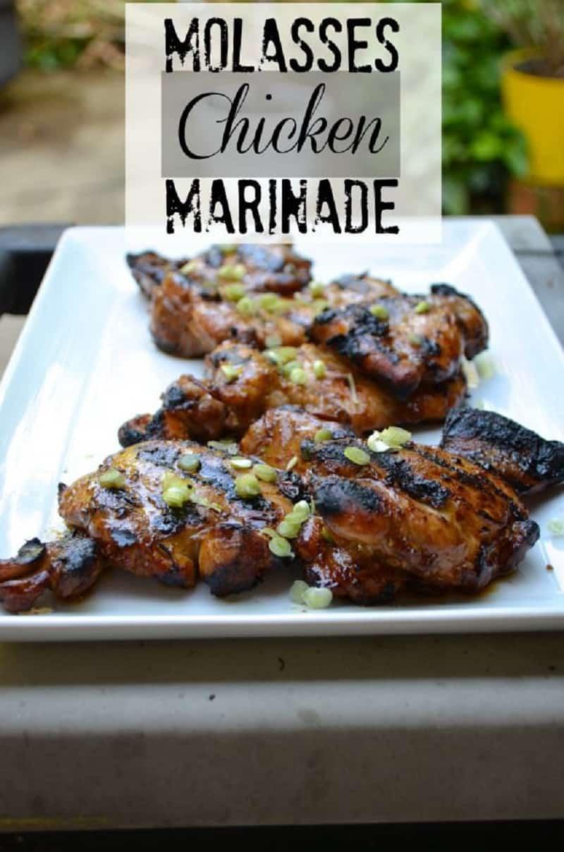 Molasses chicken marinade