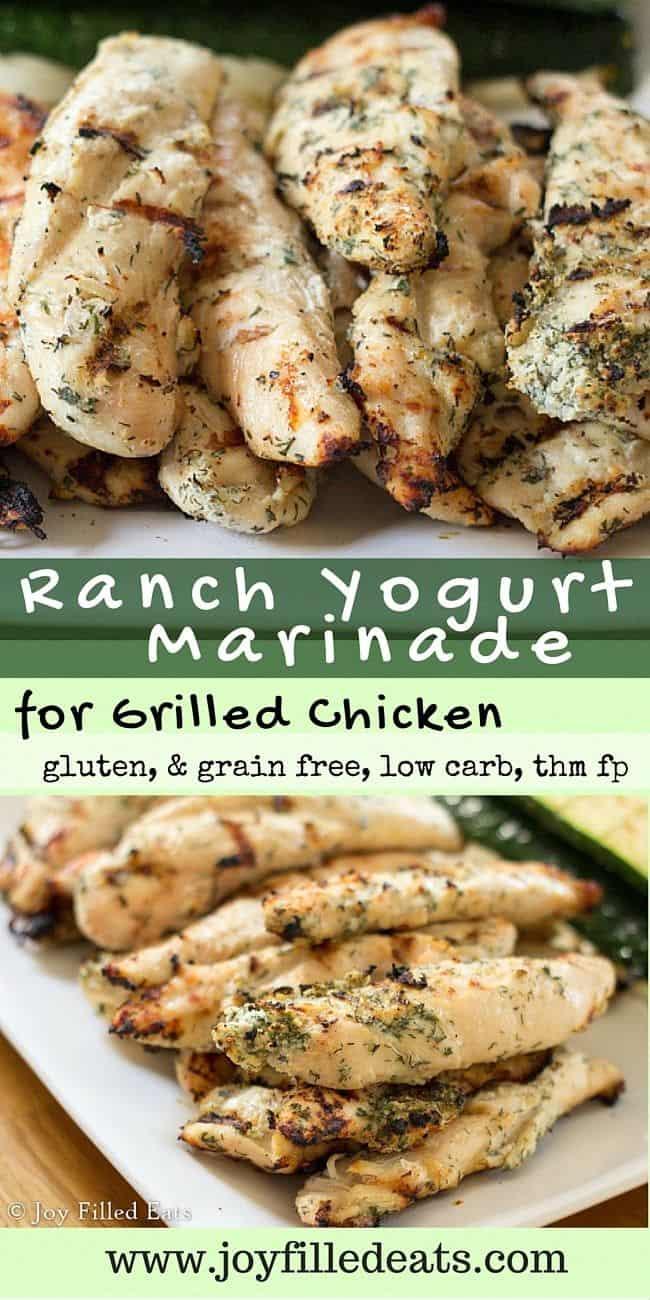 Ranch yogurt grilled chicken