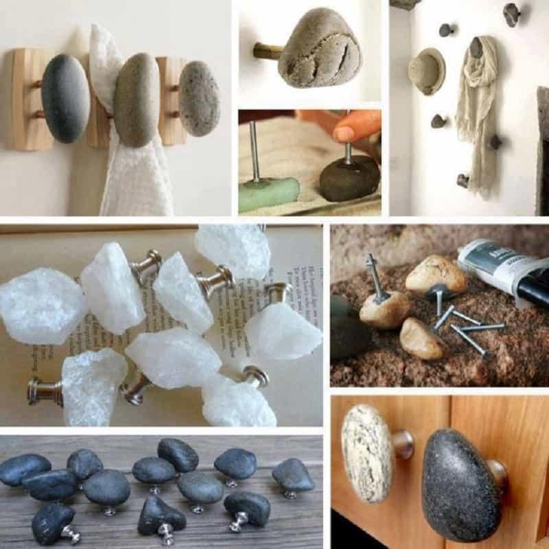 Rock wall hangers