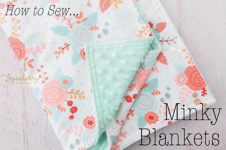 Turquoise baby blanket