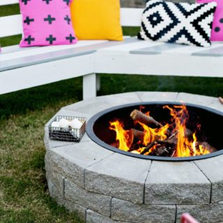 13 DIY Fire Pits for A Backyard out of a Dream