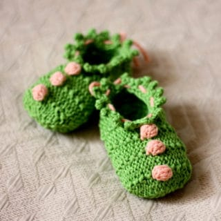 Cute and Comfy Attire: 15 Knitted Baby Bootie Patterns