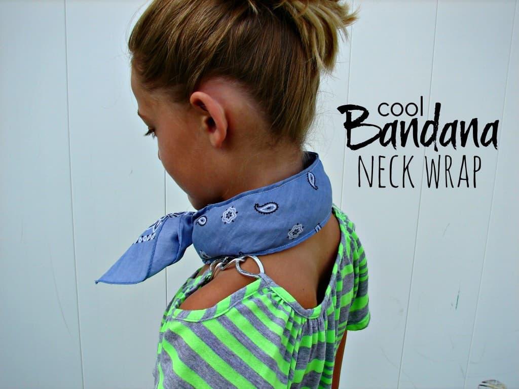 Bandana neck wrap