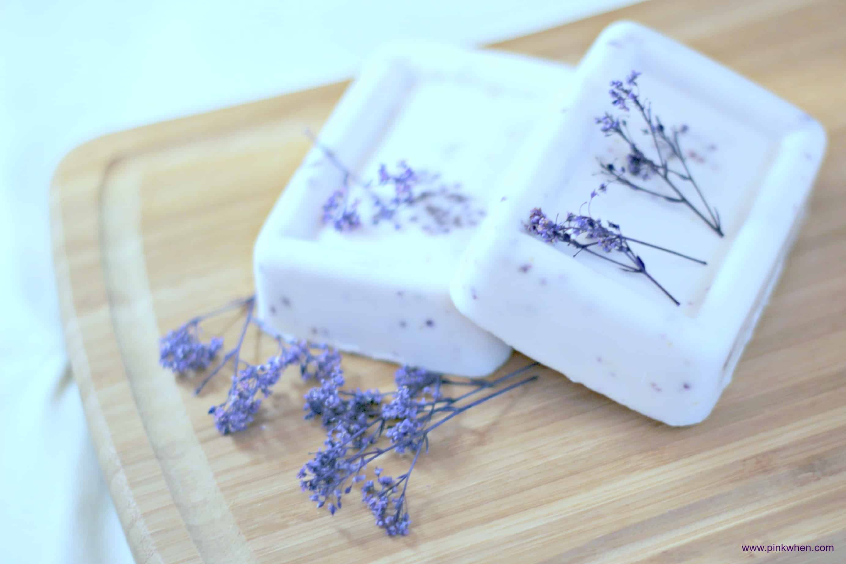 Calming lavender soap