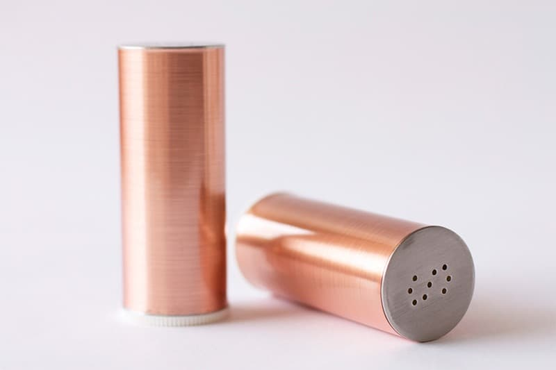 Copper shakers