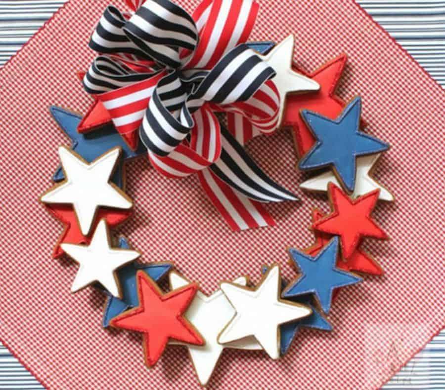 DIY Sugar cookie wreath