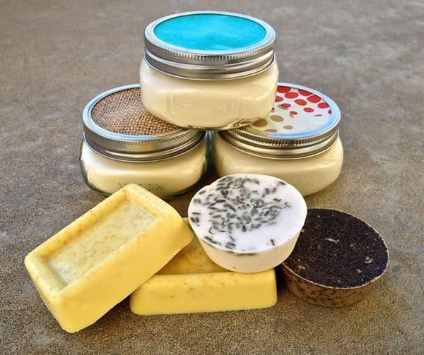Easy glycerin soap