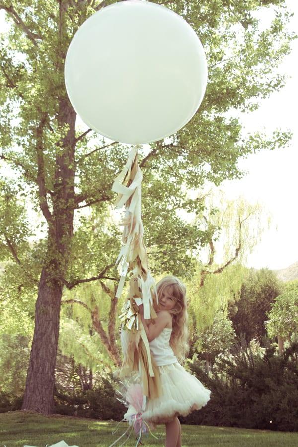 Fringe balloon