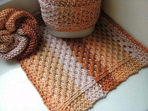 Lace Mesh wash cloth