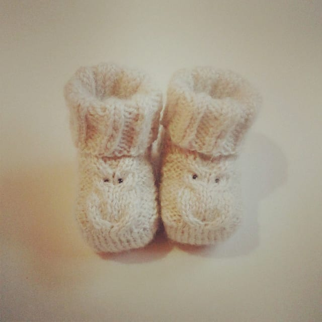 Little Owl booties