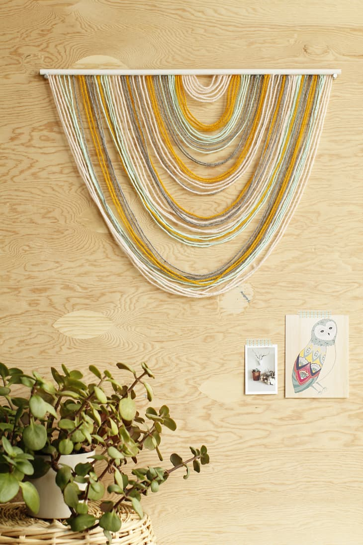 Awesome DIY Tapestry Wall Hangers