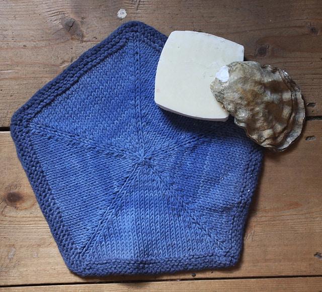 Sand Dollar dish cloth